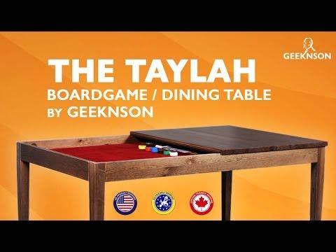 board game table Taylah - Kickstarter