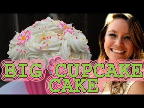 Big Cupcake Cake: How To!