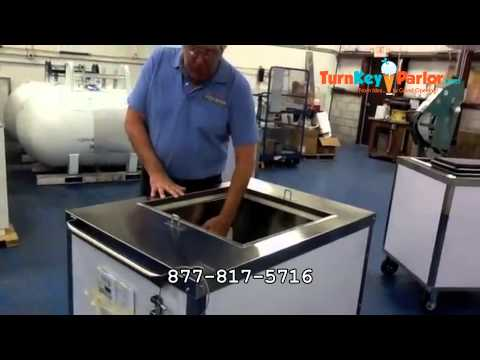 Cold Plate Push Carts for Ice Cream C Nelson
