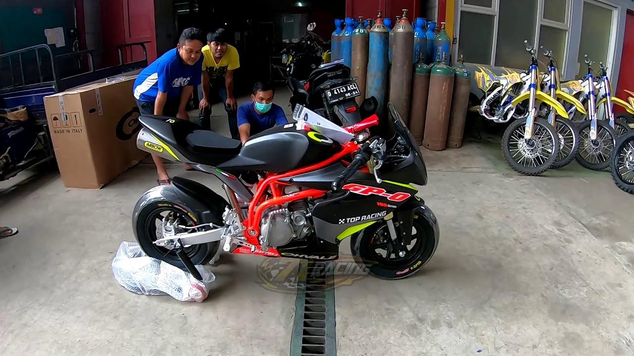 Unboxing Motor MotoGP-0 di pabrik SND dateng dari Italia langsung