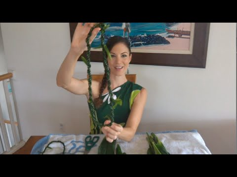 How To Make a Ti Leaf Lei