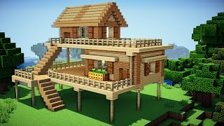 Download Minecraft: Starter House Tutorial - How to Build a House in Minecraft / Easy / Video