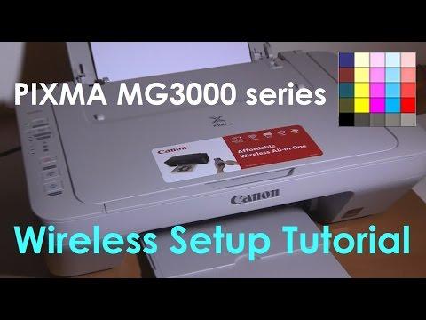 PIXMA MG3050 MG3040 MG3020 E474 series Wifi Setup (part3)