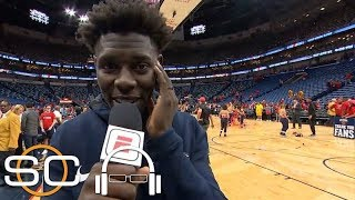 Jrue Holiday: The atmosphere in New Orleans was