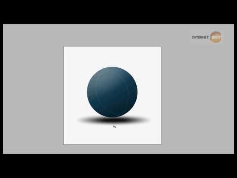 Adobe Photoshop CS3: Easy 3D Ball [720p - HD]