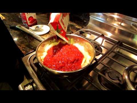 Quick Low Fat Vegan NO OIL Tomato Pasta Sauce