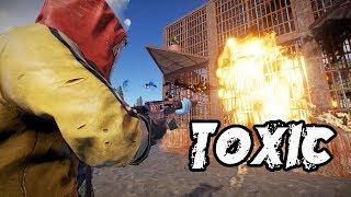 RAIDING TOXIC HOSTAGES! (Rust Solo)