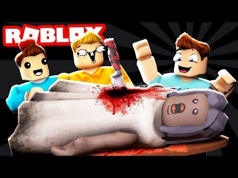 WE KILLED GRANNY IN ROBLOX! Flee from Granny's Facility! (Roblox Granny)