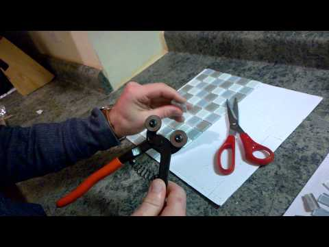 Nipper Mosaic Glass Tile (Step-2)