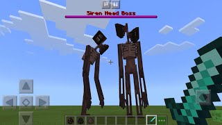 Sirenhead MOD UPDATE in Minecraft PE