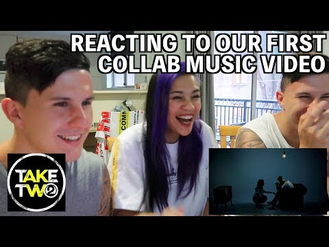 BTS & REACTING TO OUR MUSIC VIDEO! | #TakeTwoDamielou @TheShareSpace