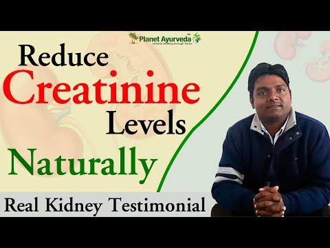 Reduce Creatinine Levels Naturally - Real Kidney Testimonial