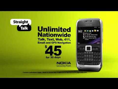 Nokia E71 Galaxy with Straight Talk
