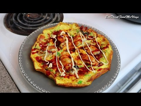 Oyster Omelette with Bacon - Cooking Vlog #13