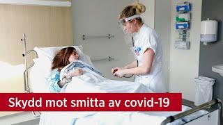 Skydd mot smitta av covid-19