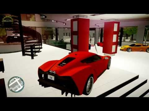 AMAZING GTA 4 SPORT CARS DEALER ONLY THE BEST