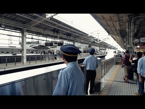On-board the Nozomi N700A Shinkansen: Tokyo to Kyoto and back「のぞみ N700A 新幹線:東京〜京都」