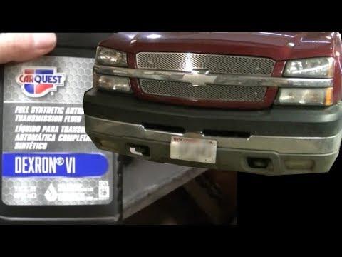 04 Silverado 2500HD Transfer Case Fluid Change