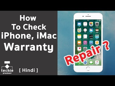 How to Check Warranty for iPhone, iPad, iMac, MacBook? [HINDI]