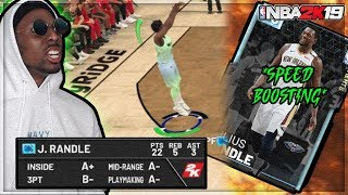 5d8b5295e7e  SPEED BOOSTING + CRAZY POSTERS  Diamond Julius Randle! NBA 2K19 MyTeam!