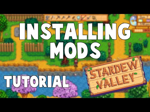Stardew Valley | How To Install Mods (Updated Tutorial) (XNB Files)
