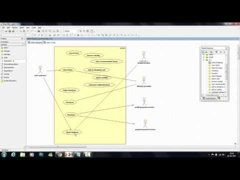 Tutorial 7 : Online Shopping - Use Case Diagram