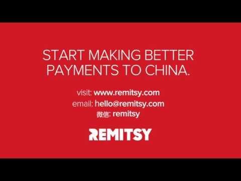 How to Send Money to China via Remitsy Platform