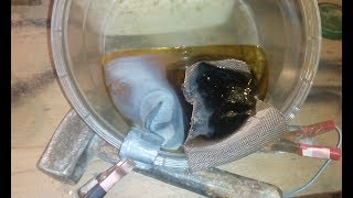 Electrolytic gold recovery Gold Electrolysis or Reverse gold
