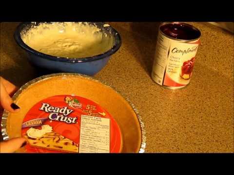 No Bake Cheesecake - Easiest Recipe EVAR !