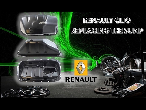 How to replace the sump on a Renault Clio - Simple and easy