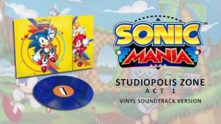 Sonic Mania Vinyl Ost Studiopolis Zone Act 1 lights Camera Action