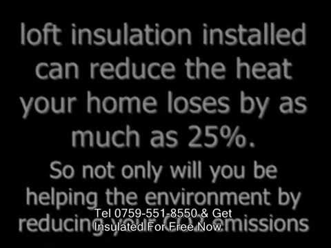 Free Cavity Wall And Loft Insulation