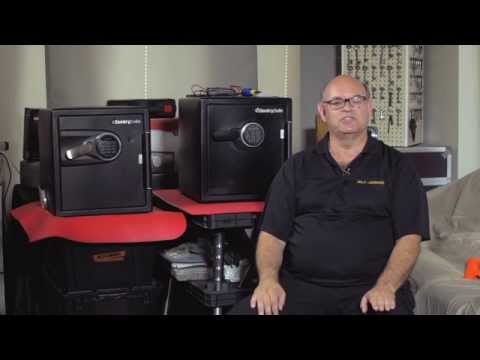 First Training Video in Safe Opening Series: How to Open Sentry Electronic Safes Trailer