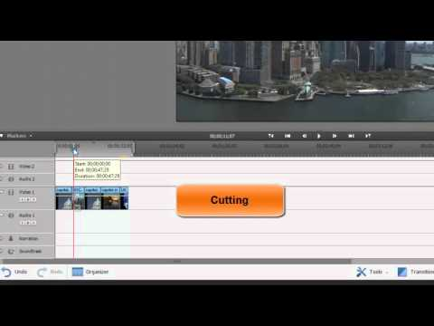Cutting, Trimming and Splittting Clips in Adobe Premiere Elements
