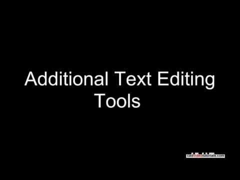 AutoCAD Tutorial - Editing Dimensions