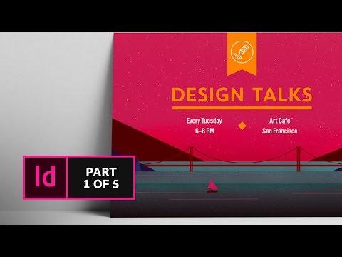 How to Create a Postcard in InDesign (1/5) | Adobe Creative Cloud