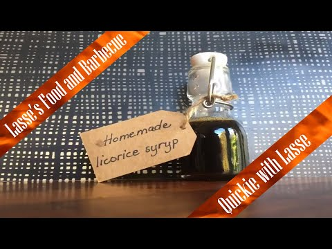 Licorice Syrup - for desserts