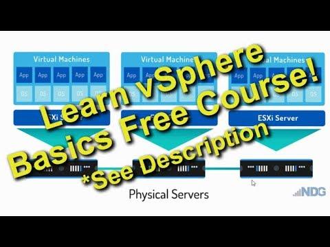 VMware vSphere for Beginners