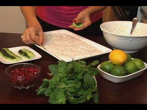 ARABIC YOGURT & CUCUMBER WITH MINT SALAD-How To Video