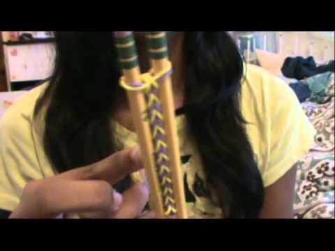 Fishtail Bracelet with 2 pencils