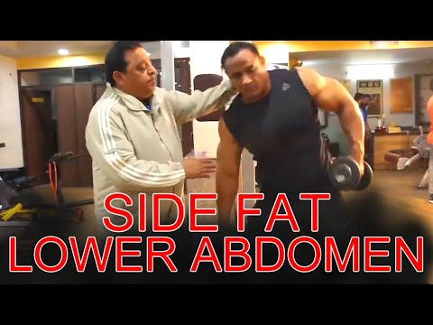 Exercise For Your Lower Abdomen & Side Fat
