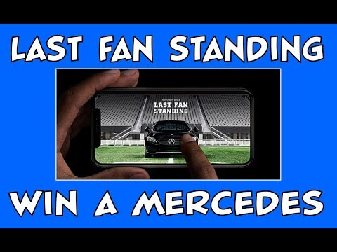 Last Fan Standing | Win a 2018 Mercedes-AMG C 43 Coupe during Super Bowl LII