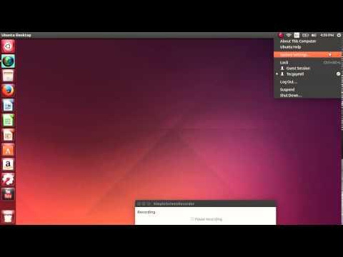 Finding System settings control panel Ubuntu 14.04