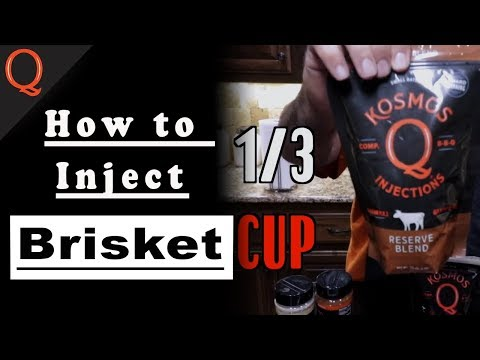 How To Trim & Inject Brisket