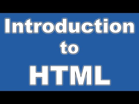 How to Build a Website #1 - Introduction to HTML - Basics and beginnings [Web Tutorial]