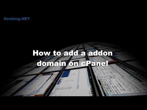 How to add a addon domain in cPanel