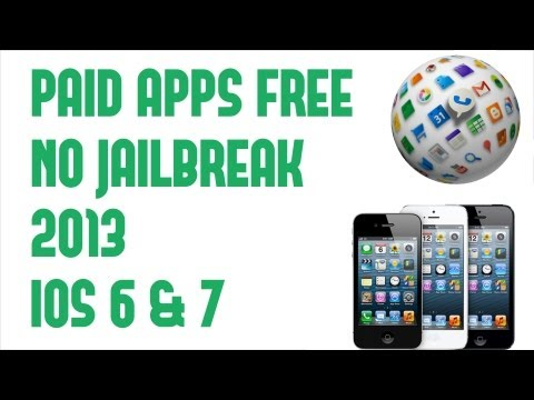 GET ALL APPS FREE on IOS 6 & iOS 7 without JAILBREAK