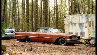 20,000 Cars Left Behind! Abandoned Car Graveyard!