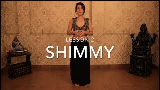 Lesson 2 | How to Shimmy with Meher Malik | Basic Beginner Belly Dance Tutorials