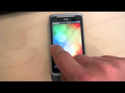 HTC Desire: Changing virtual desktops
